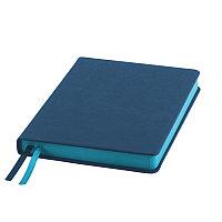 Ежедневник недатированный Softie, А5, лазурный, блок в клетку, лазурный обрез, Голубой, -, 24720 22