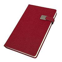 Ежедневник недатированный Linnie, А5, красный, кремовый блок, Красный, -, 24733 08, фото 1