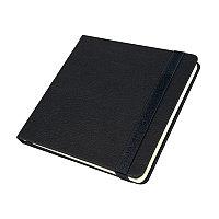 Ежедневник недатированный Quadro, A5-, черный, кремовый блок, Черный, -, 24730 35, фото 1