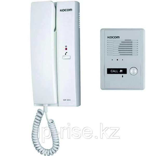 Комплект аудиодомофона KDP-601A + MS-2D