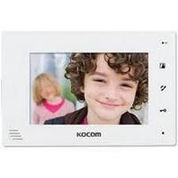 Монитор видеодомофона KOCOM KCV-A374(W), Kocom
