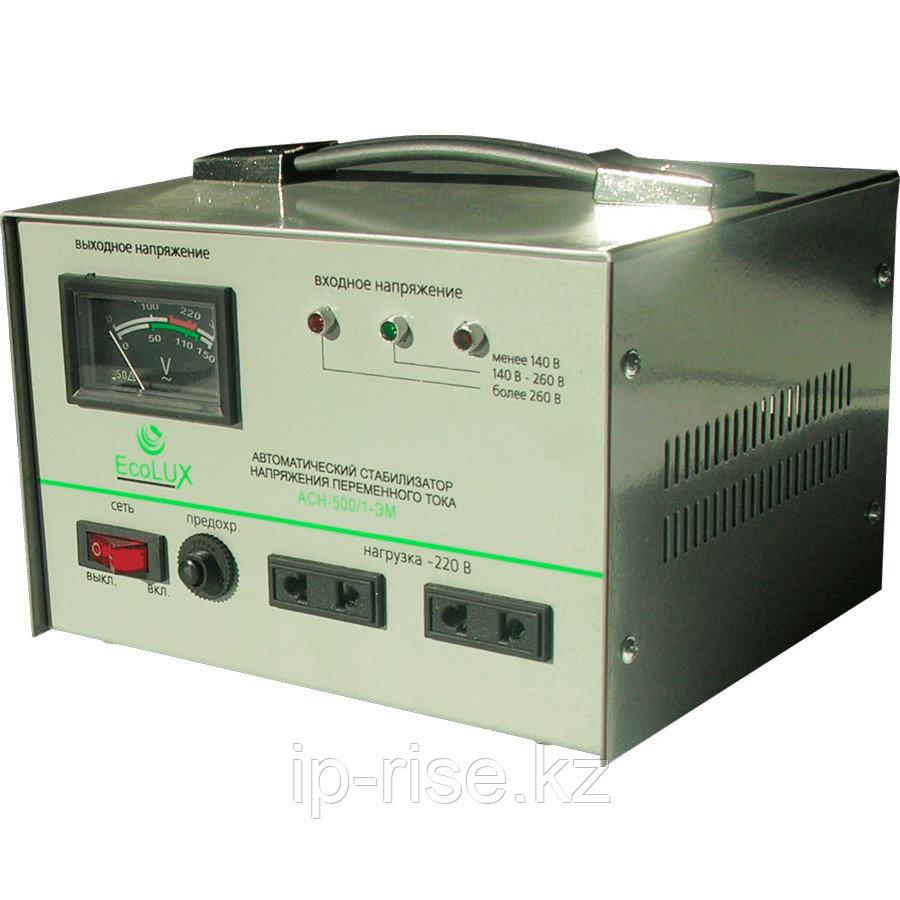 Стабилизатор ECOLUX 1ф 500 W