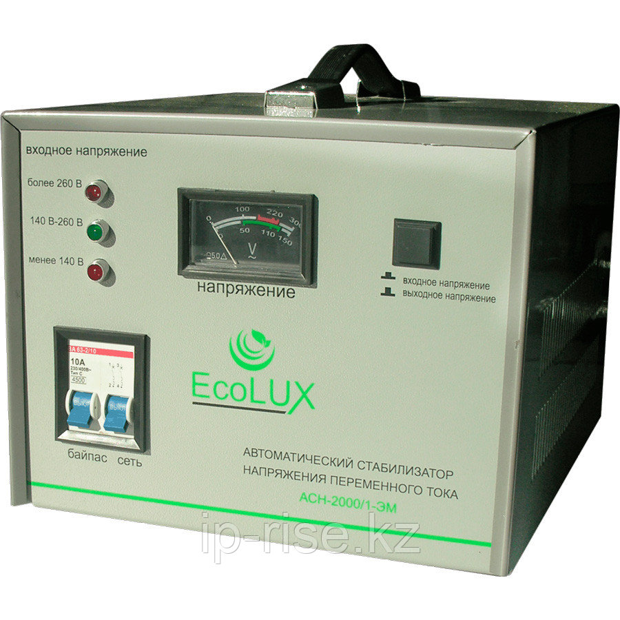 Стабилизатор ECOLUX 1ф 2000 W