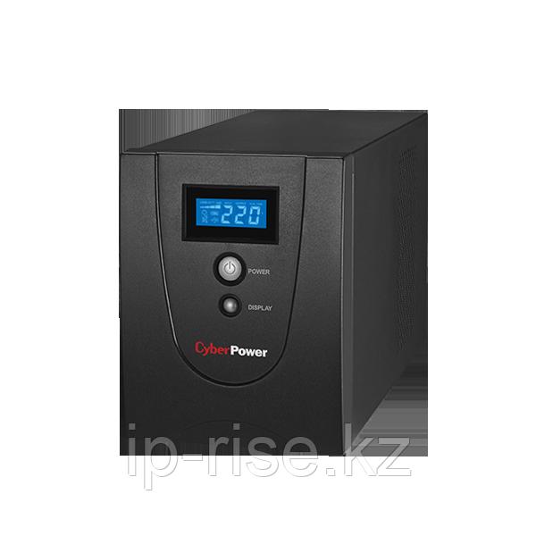 VALUE1200ELCD Интерактивный ИБП, CyberPower VALUE1200ELCD, выходная мощность 1200VA/720W, LCD, AVR