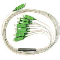 Сплиттер PLC 1x4 steel tube 0,9mm 1,5m G657 SC/APC