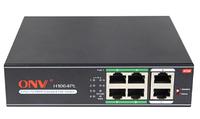 Коммутатор PoE 4-портовый ONV-H1064PL long distance  4 порта 10/100Mbps PoE802.3at, +2 Uplink порта