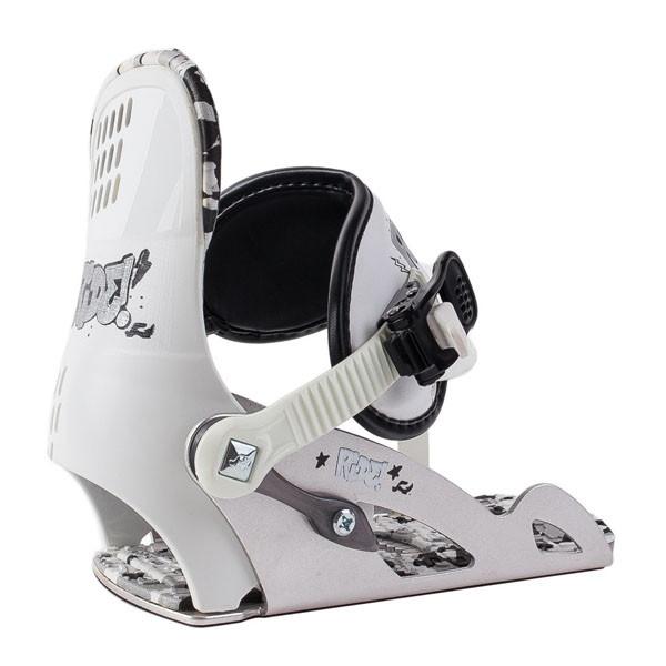 Ride  крепления сноубордические детские 1211015.1.1  Micro - white - S