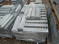 Бордюр 500x120x80 для тротуарной плитки  Серый, фото 1