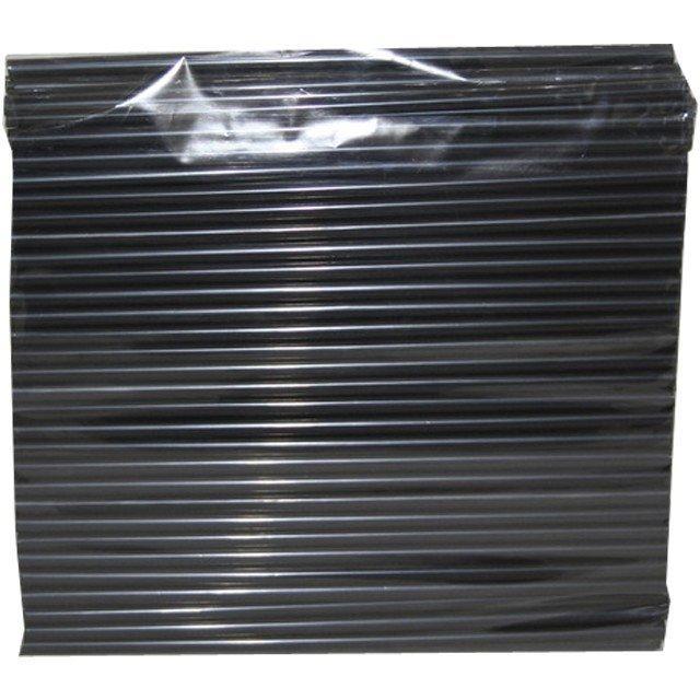 Трубочки д/коктейля прямые d=8мм L=240мм,, черные  250шт/упак, 250 шт