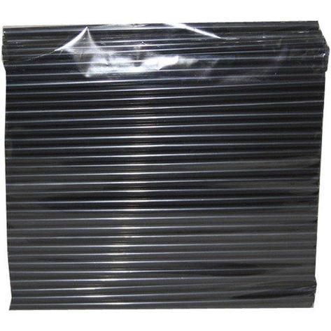 Трубочки д/коктейля прямые d=8мм L=240мм,, черные  250шт/упак, 250 шт, фото 2