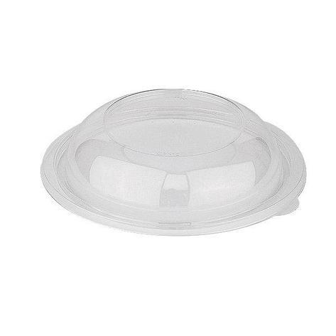 Крышка круглая внеш. d-194мм, h-40,5 мм, прозрачная ПЭТ, купольная, 300 шт, фото 2