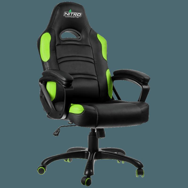 Игровое кресло GameMax GCR07 Green