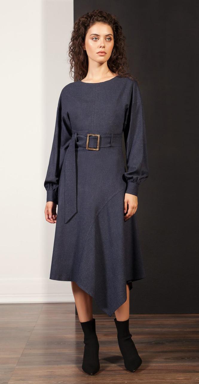 Платье Nova Line-5851, синий, 42