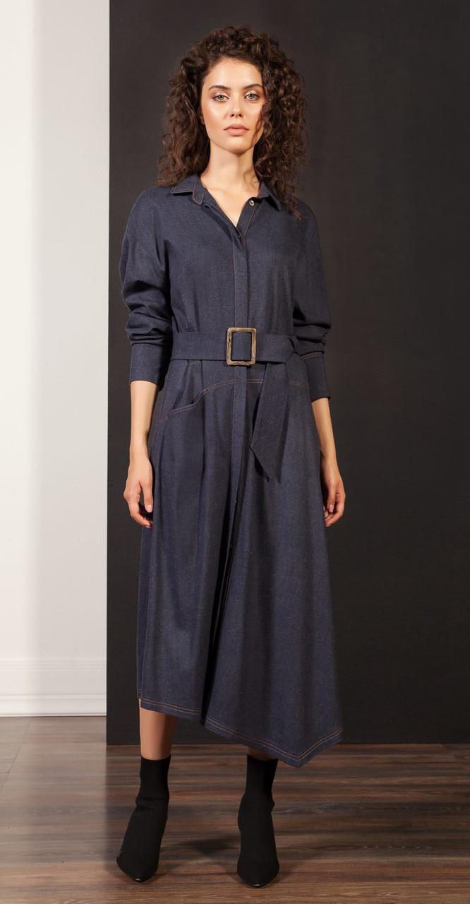 Платье Nova Line-5865, синий, 42