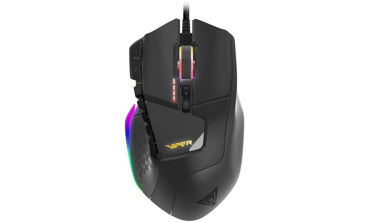 Лазерная игровая мышь Patriot Viper V570 PV570LUXWK