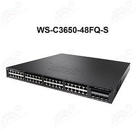 Cisco Catalyst 3650 48 Port Full PoE 4x10G Uplink IP Base