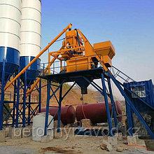 Бетонный завод модель JS-500 (бетоносмесительный узел)