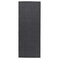 Ковёр безворсовый д/дома/улицы 80х200 МОРУМ темно-серый ИКЕА, IKEA, фото 1