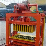 Станок для производства шлакоблока QTZ4-40 БСУ, фото 2