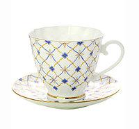 Чашка с блюдцем Ретро. Императорский фарфор, авторская работа