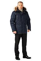 Куртка мужская зимняя «Капитан» (темно-синяя)