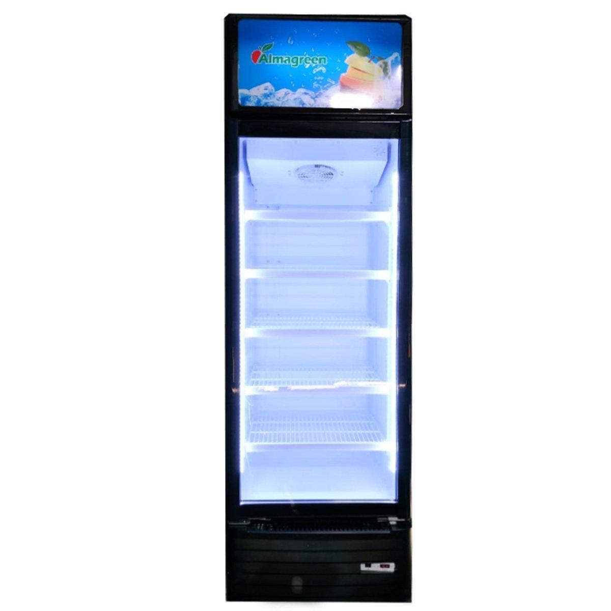 Шкаф-витрина SC-420 Almagreen