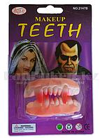 Накладные зубы вампира Make up teeth