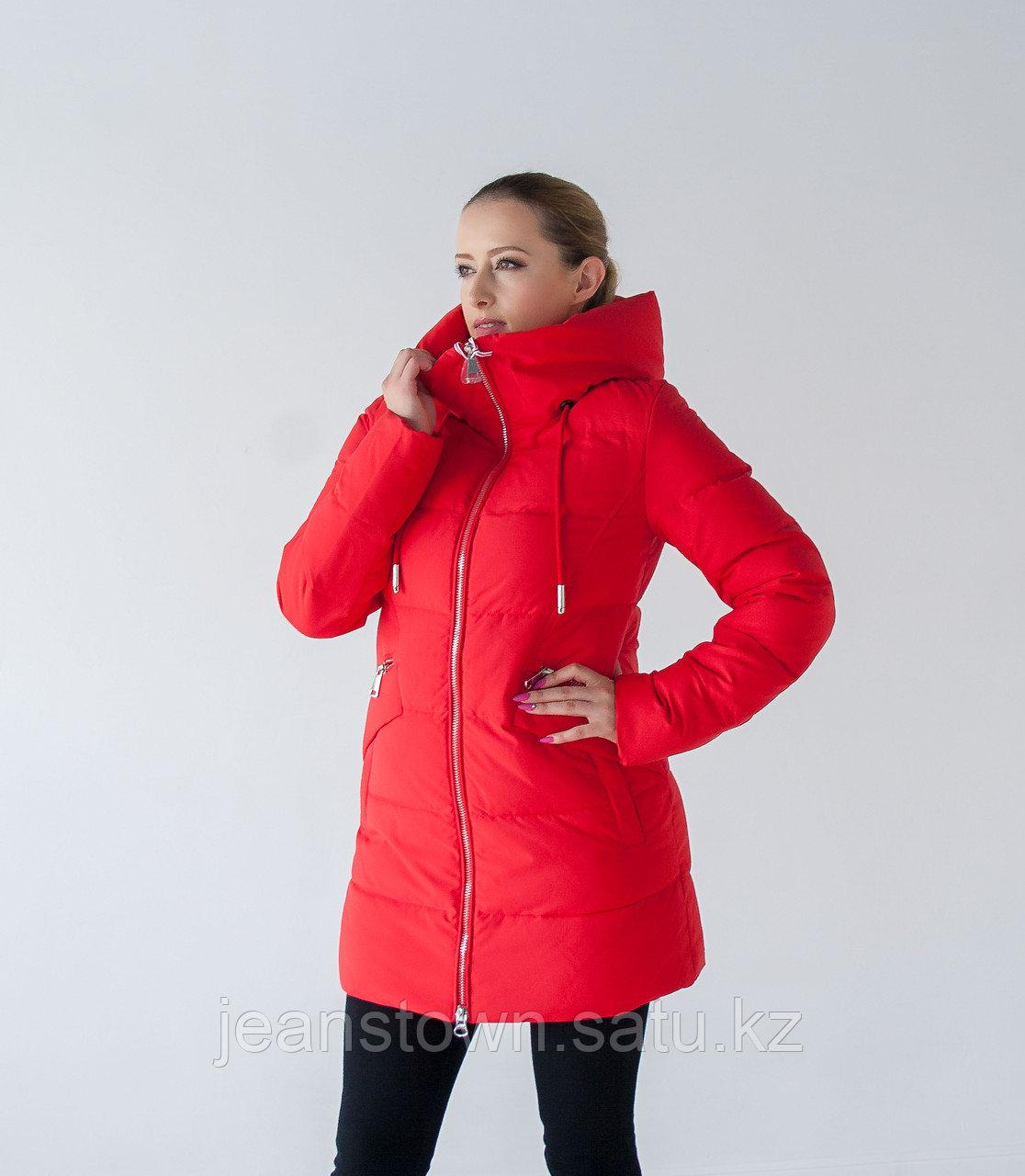 Куртка женская зимняя  Tarore , красная