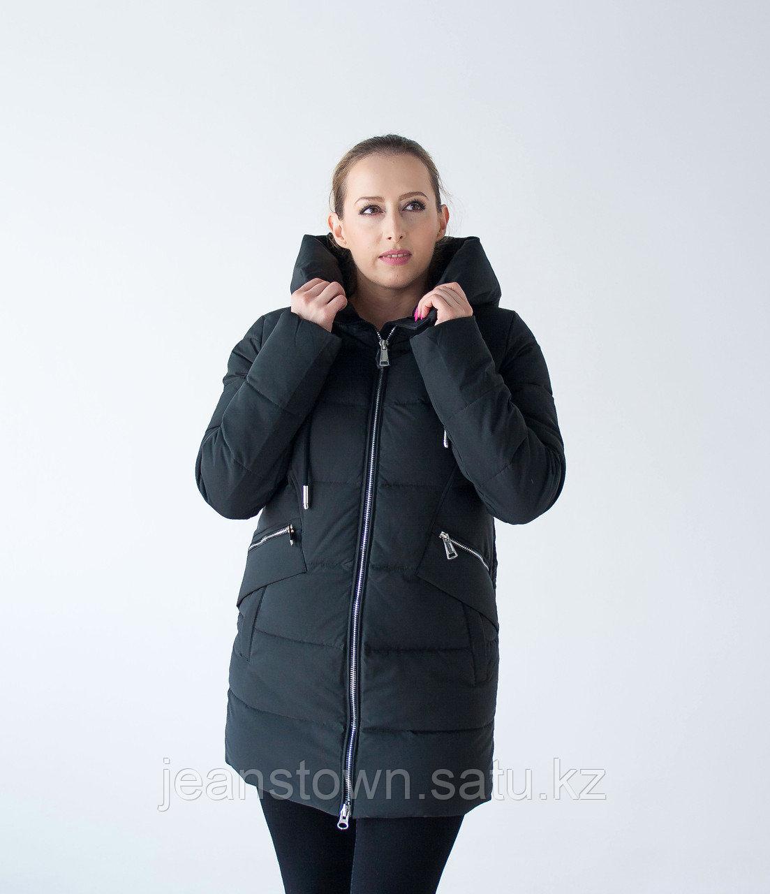 Куртка женская зимняя  Tarore , черная
