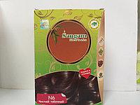 Натуральная краска для волос N6, Чистый табачный,  Сангам, 100 гр
