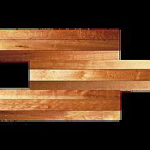 Фасадная термопанель СТИРОЛ Interior Wood 20