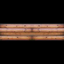 Фасадная термопанель СТИРОЛ Log Wood 17