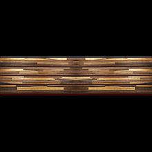 Фасадная термопанель СТИРОЛ Striped Wood 19