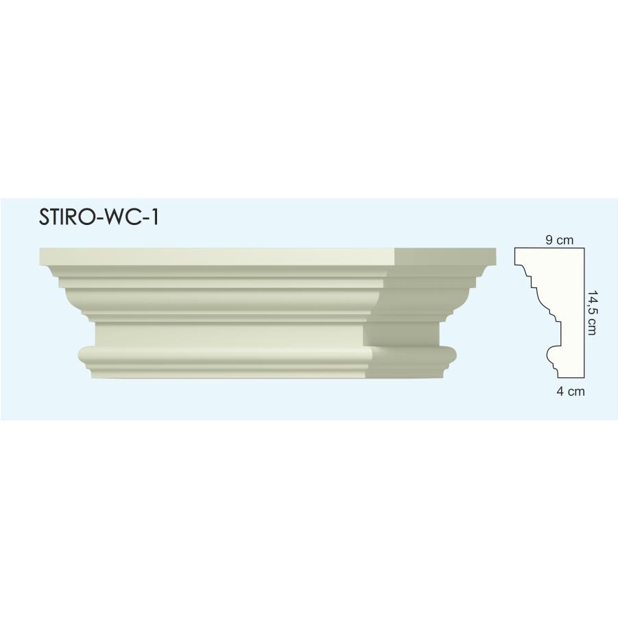 Верх окон STIRO-WC-01