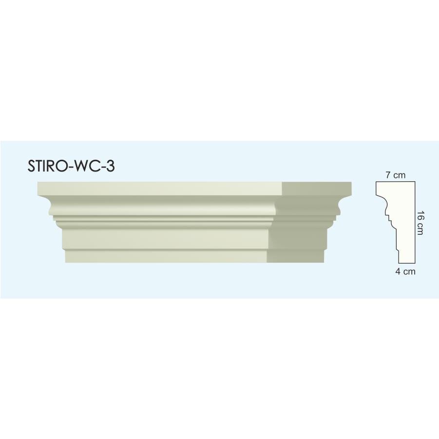 Верх окон STIRO-WC-03