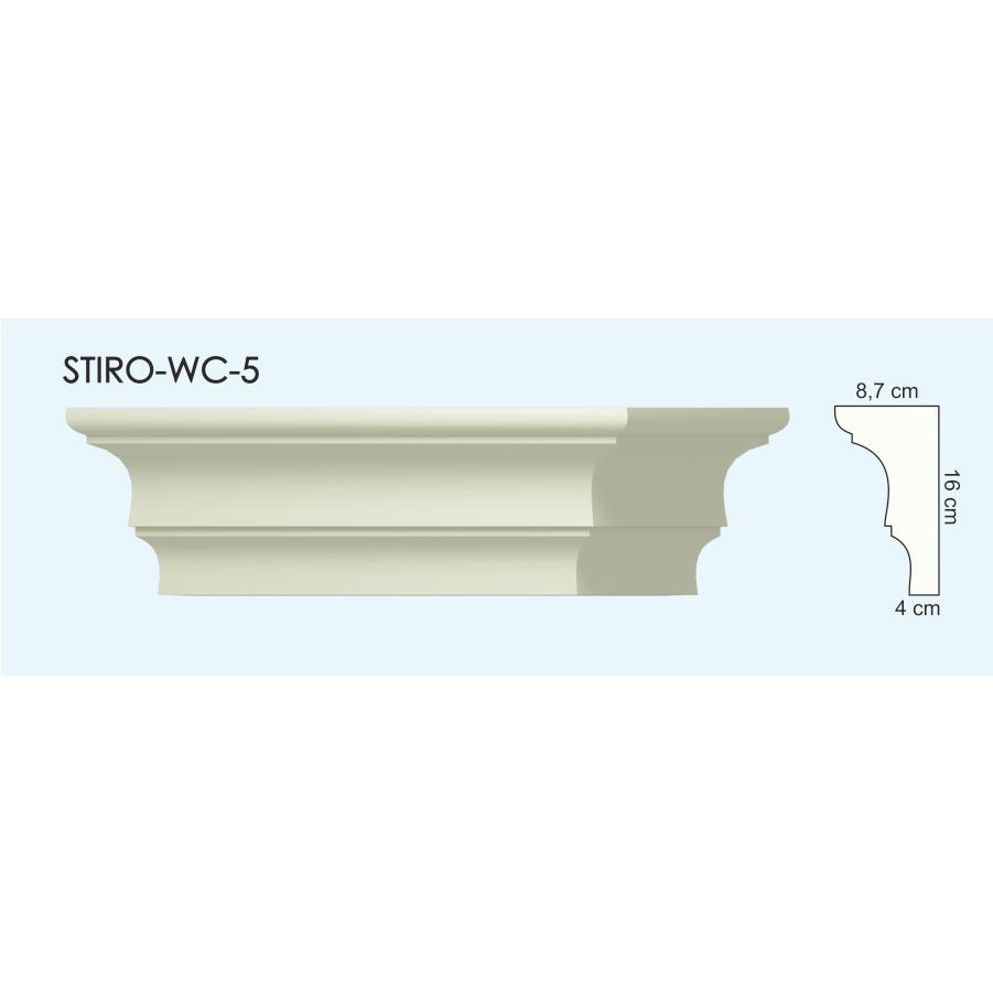 Верх окон STIRO-WC-05