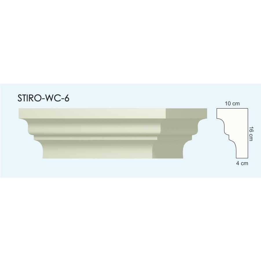Верх окон STIRO-WC-06