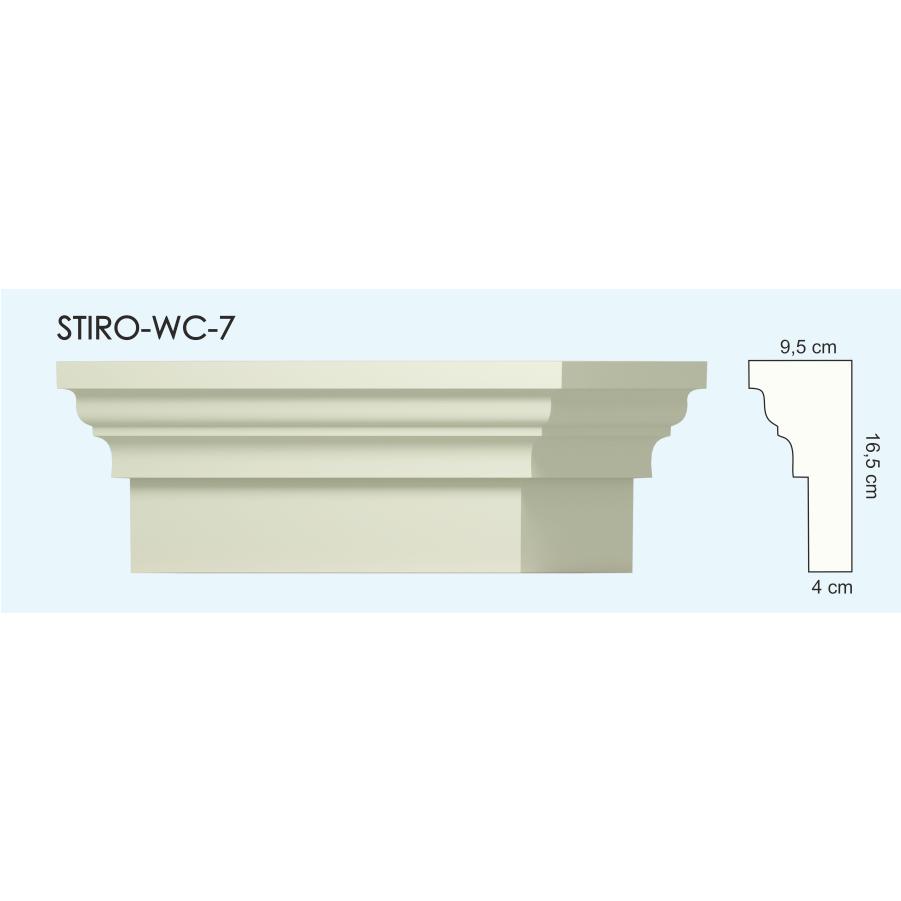 Верх окон STIRO-WC-07