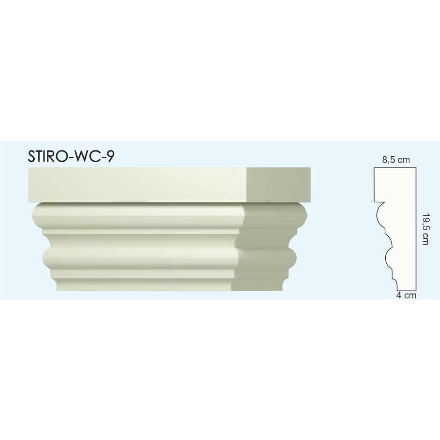 Верх окон STIRO-WC-09
