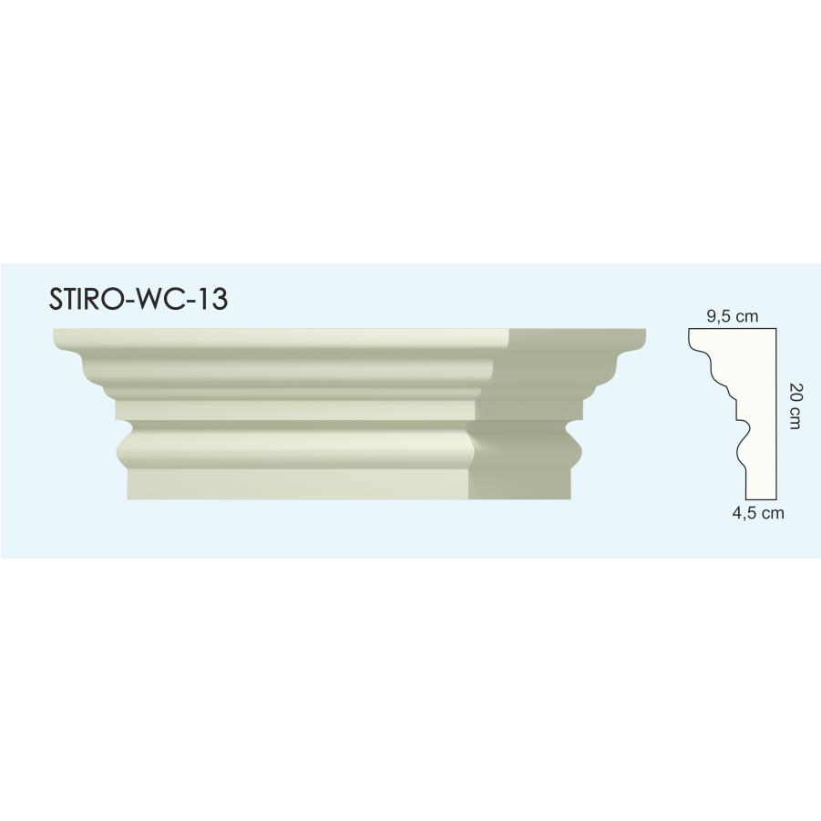 Верх окон STIRO-WC-13