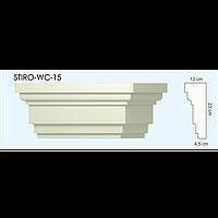 Верх окон STIRO-WC-15