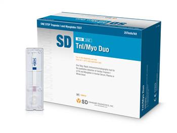 Экспресс-тест SD BIOLINE TnI/Myo Duo  для качественного определения сердечного Тропонина I и Миоглобина №25