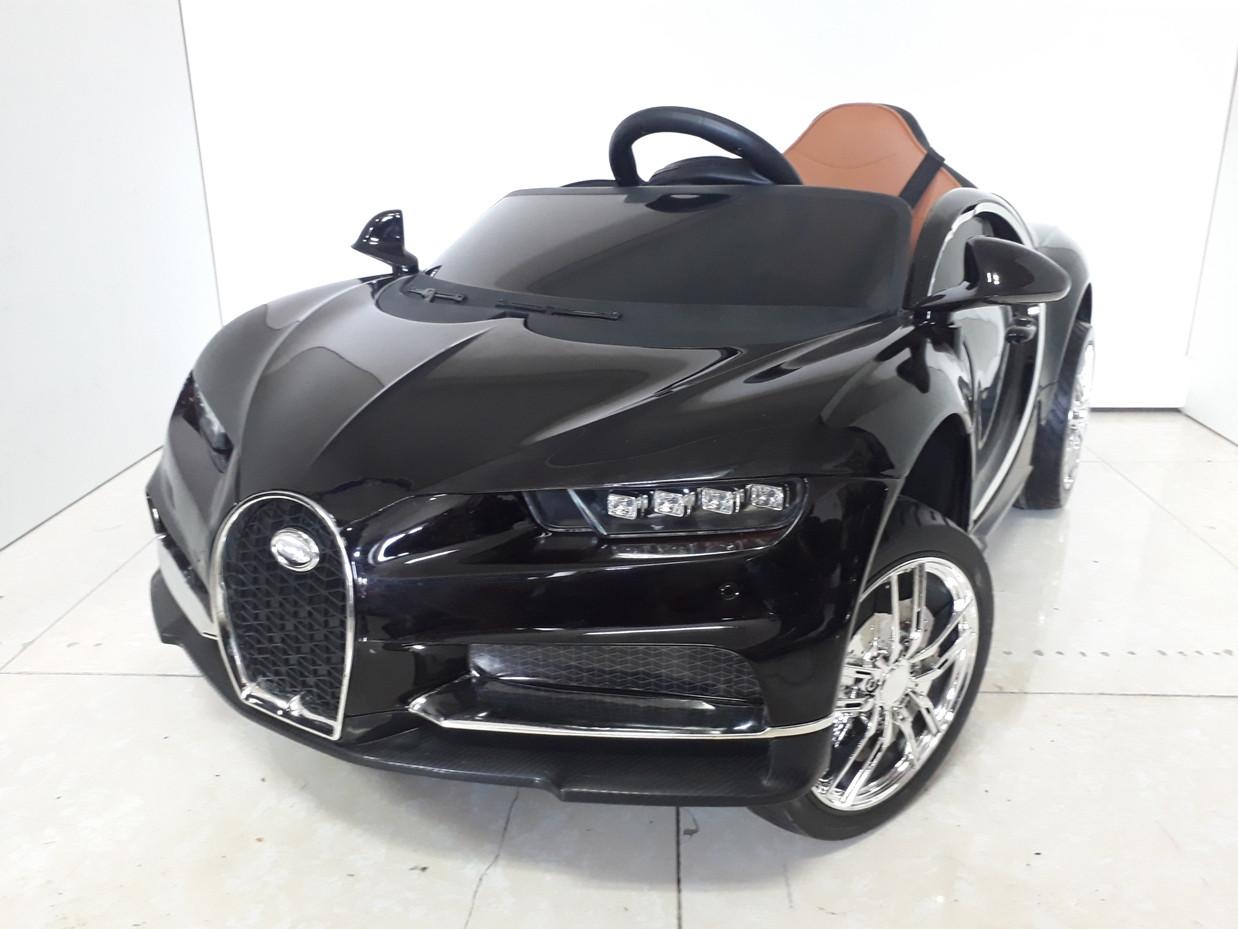 Крутой электромобиль на гелевых колесах Bugatti. Бугатти. Электрокар.