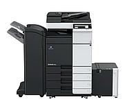 МФУ Konica Minolta Bizhub 368e. Чёрно-белый МФУ 3 в 1 (копир принтер сканер) формата А6/SRA3.