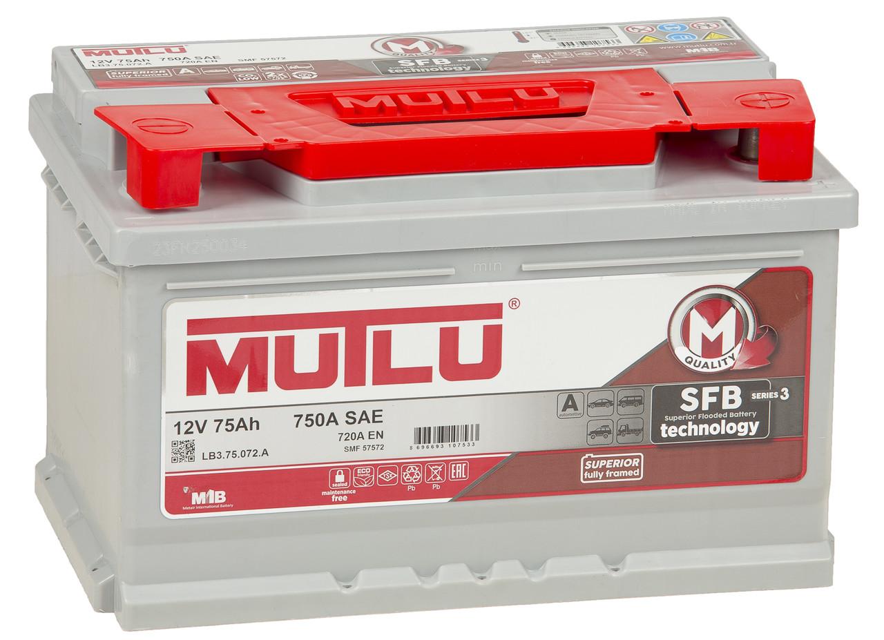MUTLU 75AH SMF 57572