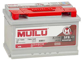 Аккумулятор автомобильный MUTLU 75AH SMF 57572