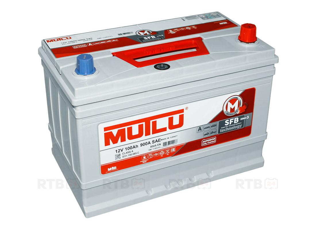 Аккумулятор для автомобиля MUTLU 100AH SMF 115D31FL