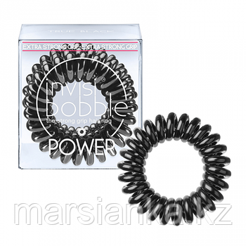 Резинка-браслет для волос, черная Invisibobble POWER