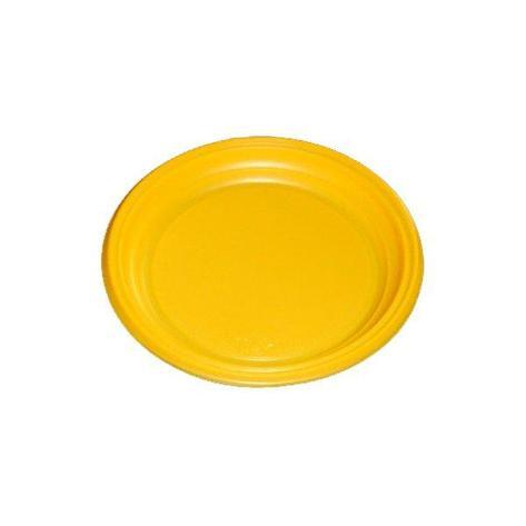 Тарелка d 170мм, жёлт., ПС, 2800 шт, фото 2