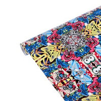 Пленка декоративная, самоклеящаяся, бомбинг, 75x200 см